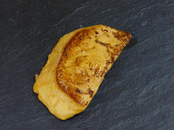 Escalopes de foie gras de canard poêlées