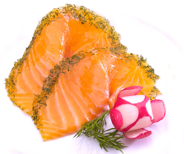 Filet de saumon mariné à l'aneth Norvégien entier