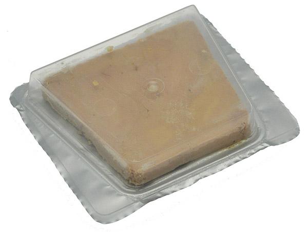 Tranches individuelles de foie gras de canard mi-cuit