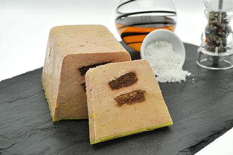 Foie gras de canard mi-cuit «Tradition» recette alcool et épices