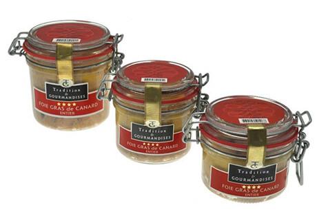 Verrines de foie gras de canard entier – «Le parfait»